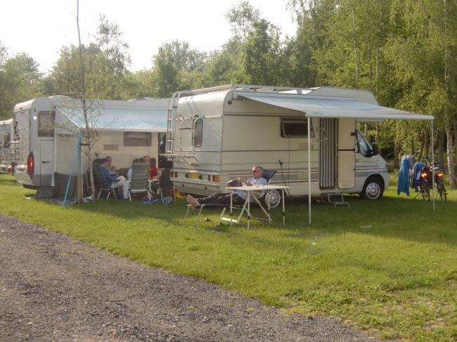 Camperplaats Vakantiepark t Urkerbos