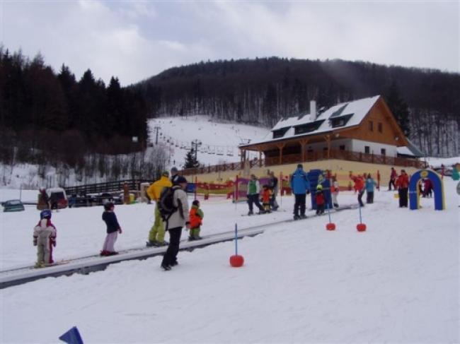 Skigebied in de buurt van het vakantiehuis