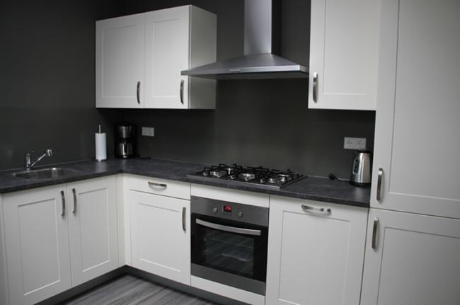 Keuken van het appartement