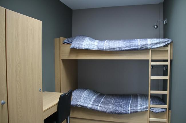 Slaapkamer 2 van het appartement