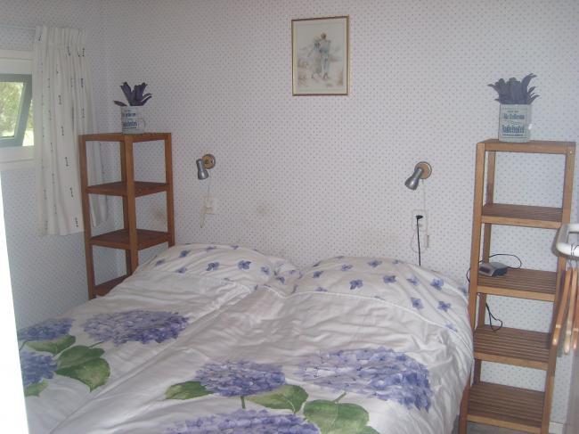 Een 2 persoonsslaapkamer.