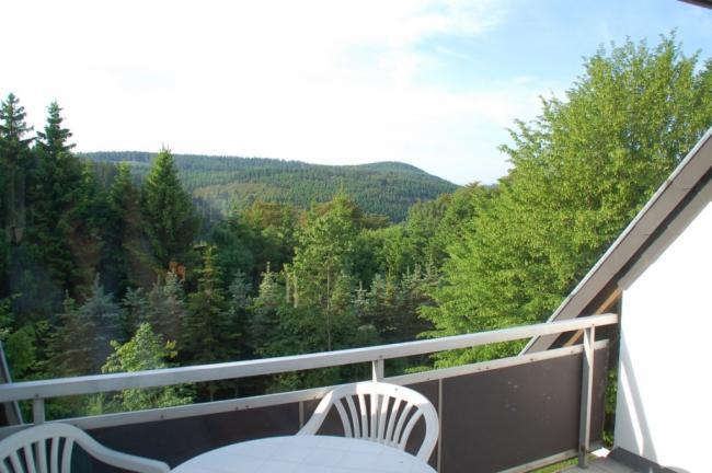 Uitzicht en balkon