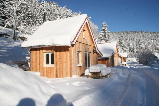 Chalet in de Winter