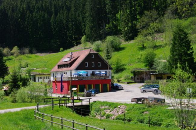 Aanzicht van Camping Rehmuhle