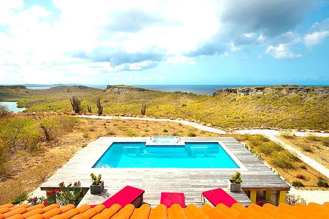 Villa caribbean sunrise - Zwembad met kookeiland ...
