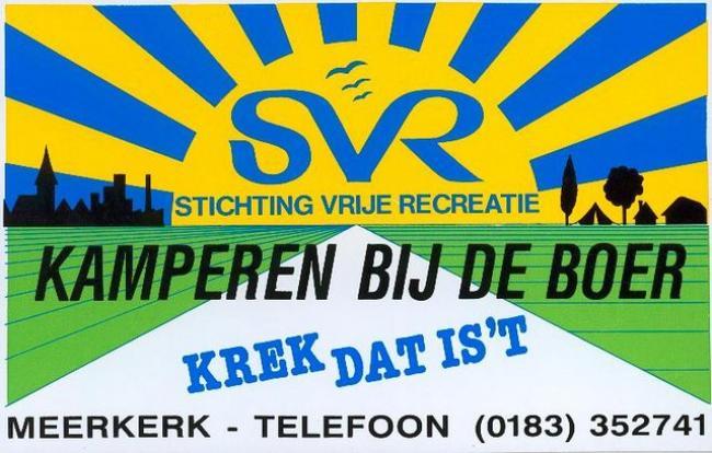 SVR Camping Gaastmeer