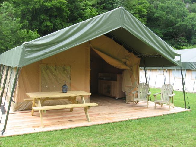 Campingkeuken Maken : Vakantie – Ingerichte safari-tent huren – StijlvolKamperen.nl