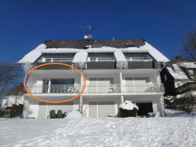 Appartement Rothaarsteig winter