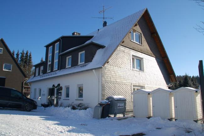 Sneeuw in Küstelberg