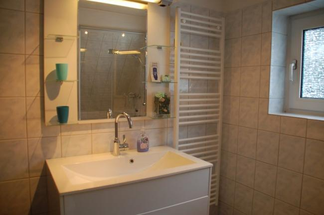 Luxe badkamer op de etage