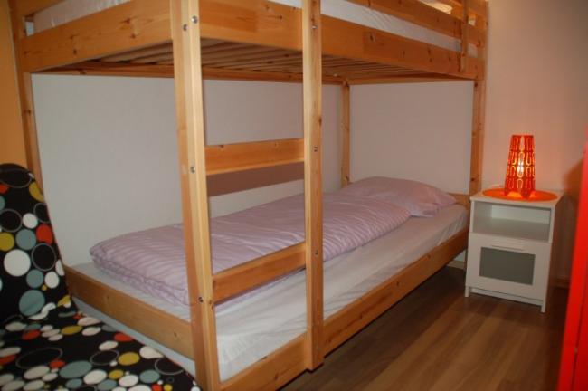 Stapelbed slaapkamer