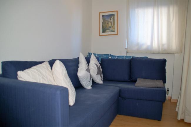 3de slaapkamer met comfortabele 2-persoonsslaapbank