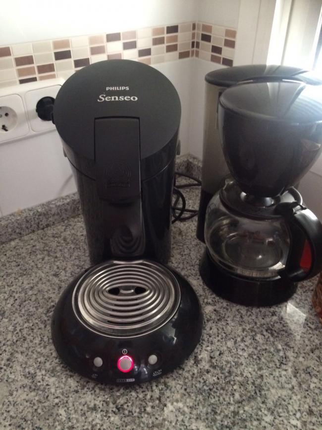 Koffiezetter en Senseo
