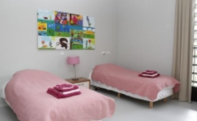 Zonder beperking accommodatie - Slaapkamer klein gebied ...