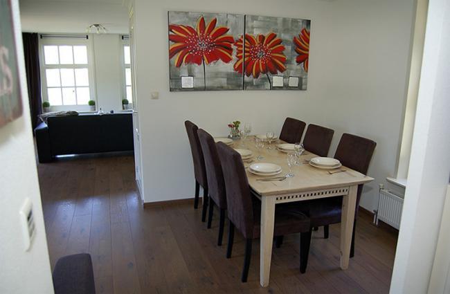 Vakantiewoning Limosa - de eetkamer