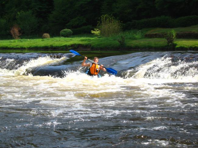 Begeleid kano varen