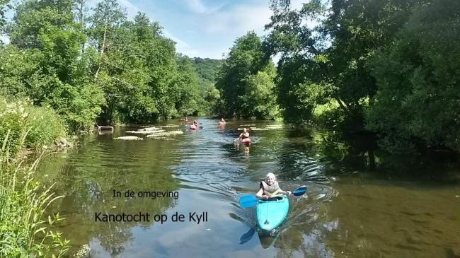 Begeleid kano varen op de Kyll
