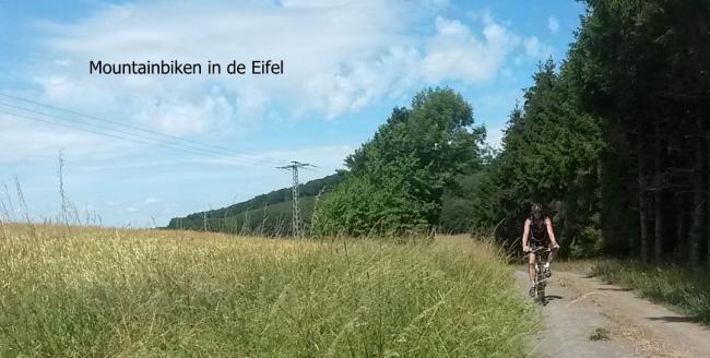 Veel wandel- en mountainbike routes