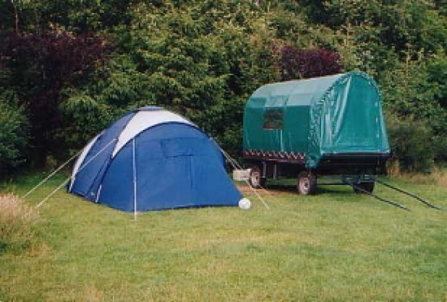 Kamperen op de Camping.