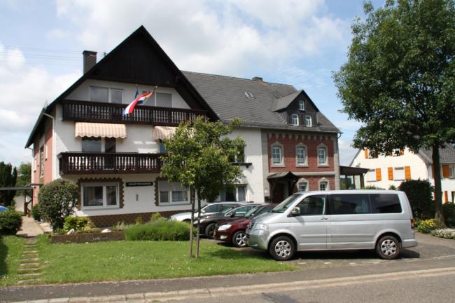 Voorzijde vakantiehuis