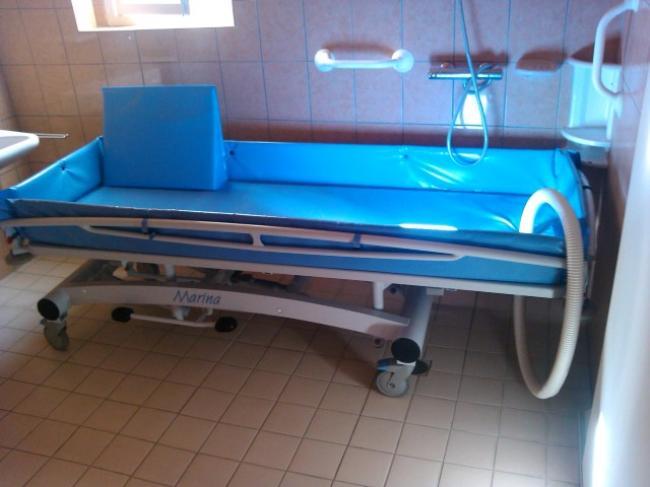Douche stretcher