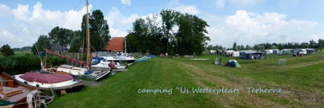 Camping us Wetterpleats in Terherne