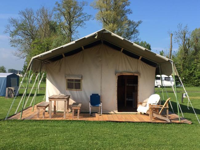 Safaritent huren Friesland Camping Us Wetterpleats