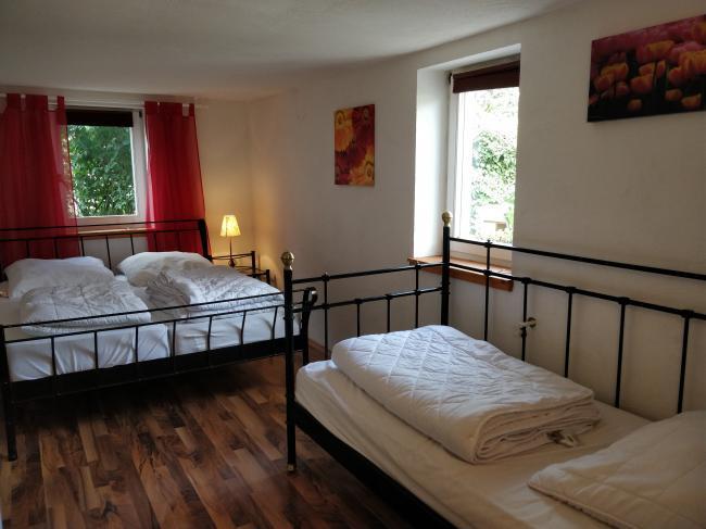 slaapkamer appartement 1