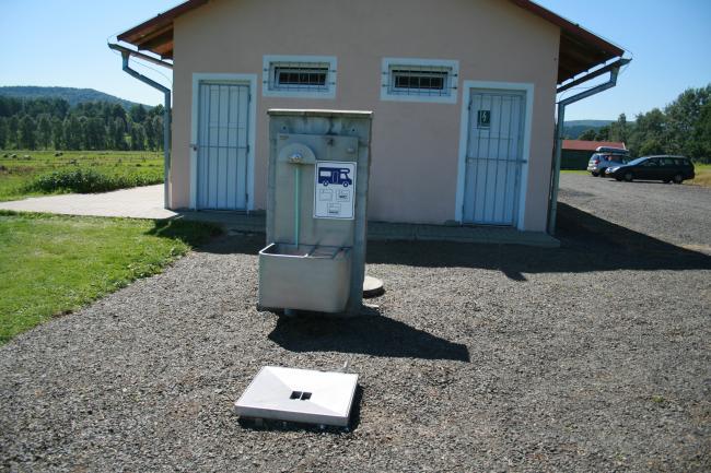 Camping de Regenboog - Stortplaats vuilwatertank en chemisch toilet