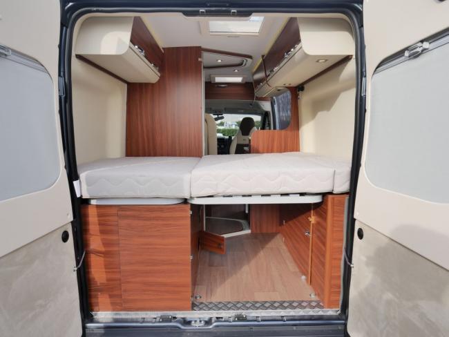 Camper Adria Twin 540 SPT achterdeuren