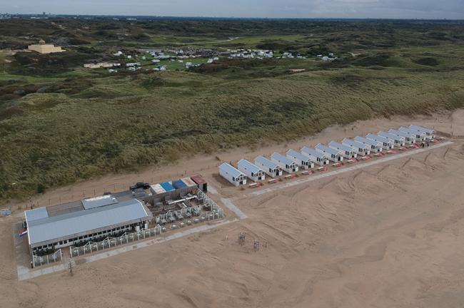 Strandpaviljoen en Strandhuisjes Willy Zuid