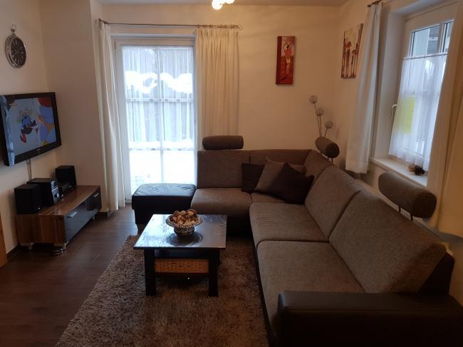 Appartement Kaprun woonkamer