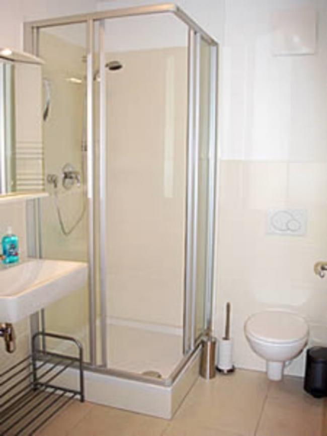 Appartement in Kaprun Douche