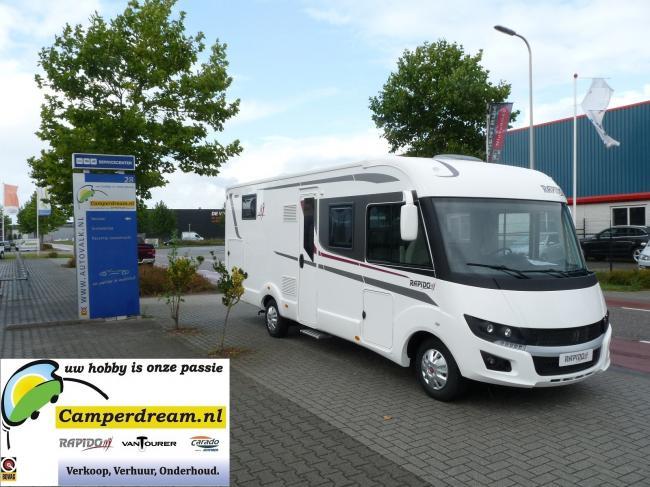 Premium Camper 4 persoons - LAIKA ECOVIP 709 + HEFBED - Type 13