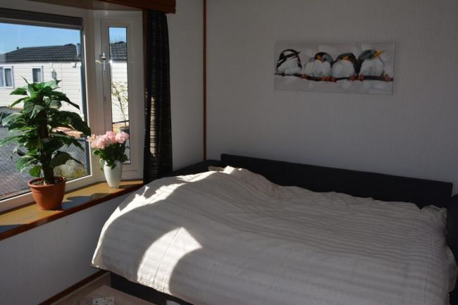 slaapbank in de woonkamer
