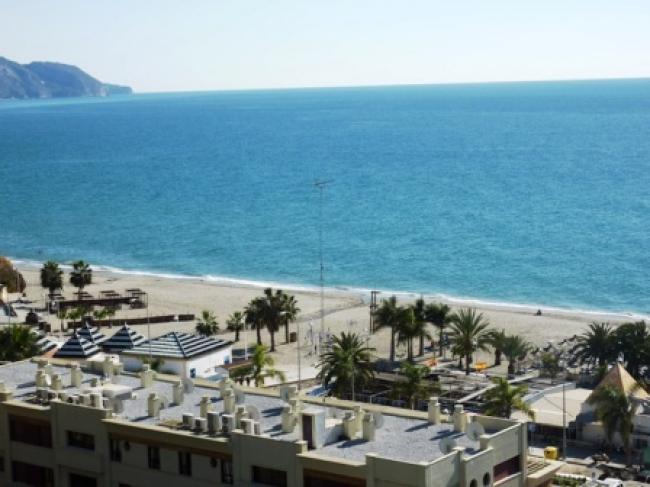 appartement met gemeenschappelijk zwembad en zeezicht in Nerja