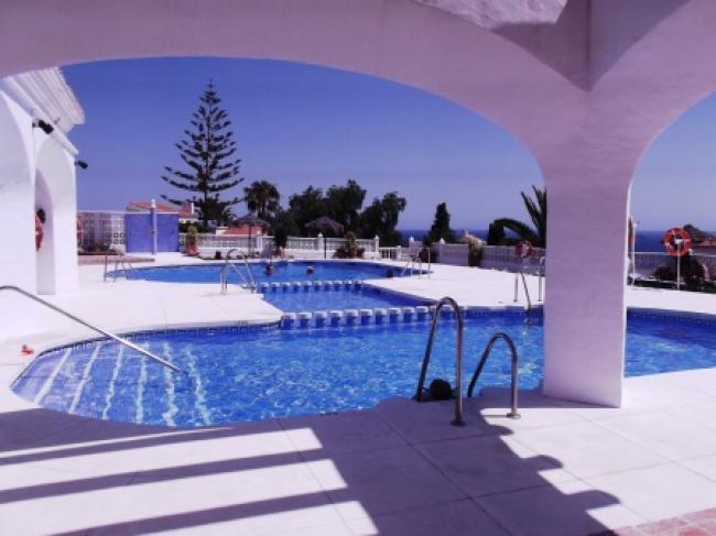 Appartement met 1 slaapkamer en zeezicht in het mooie Capistrano Playa in Nerja