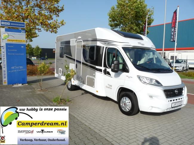 Compact Camper 2/4 persoons - Hymer / Carado T337 - Schakel - Type 7