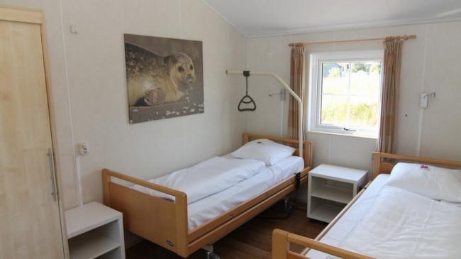 Slaapkamer met Hoog- laagbedden