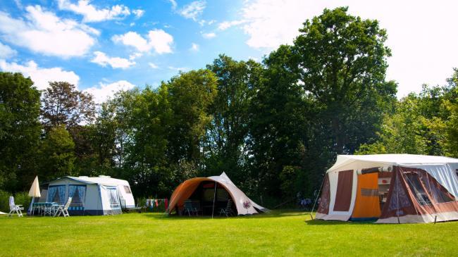 Tent, caravan of vouwwagen