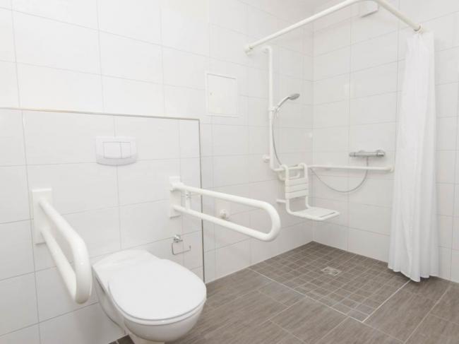Aangepaste badkamer