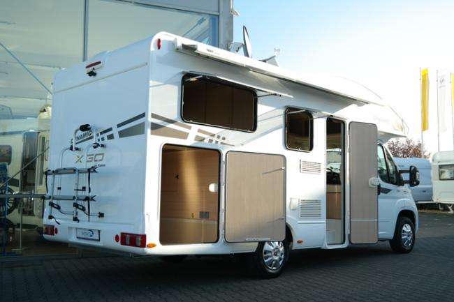 C-type campers Friesland Campers