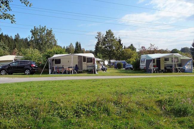 Campingplekken