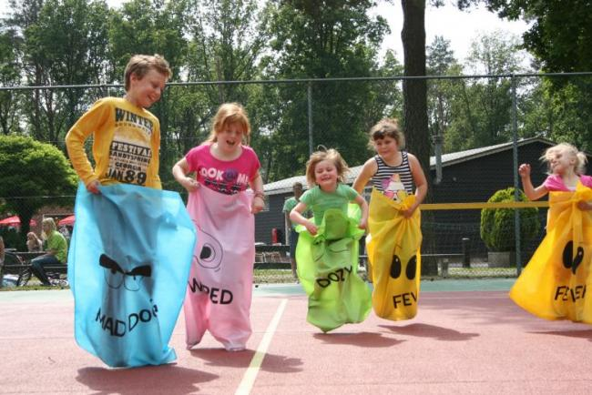 Camping Uit en Thuis, speelgelegenheid kinderen