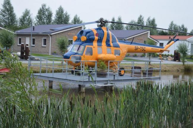 Helikopterovernachting