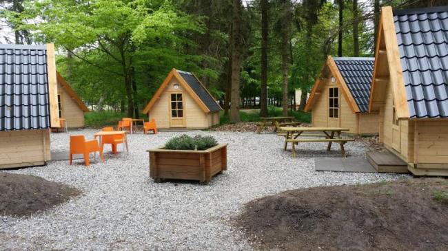 Vakantiepark t Urkerbos Kamperen kabouterhuisje