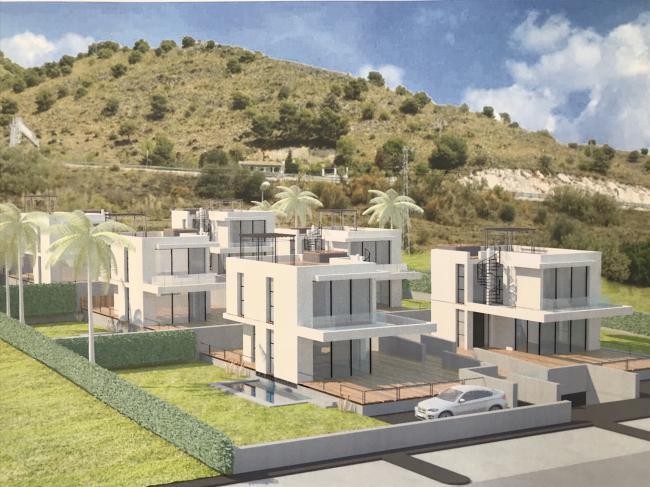 Nieuwbouw villas in Capistrano Nerja