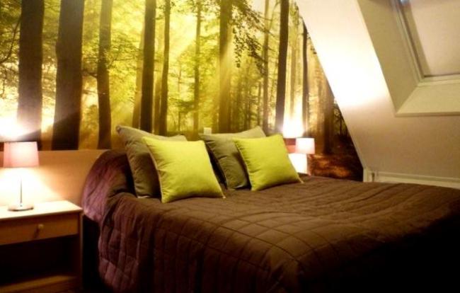 sfeervolle slaapkamer voor twee personen