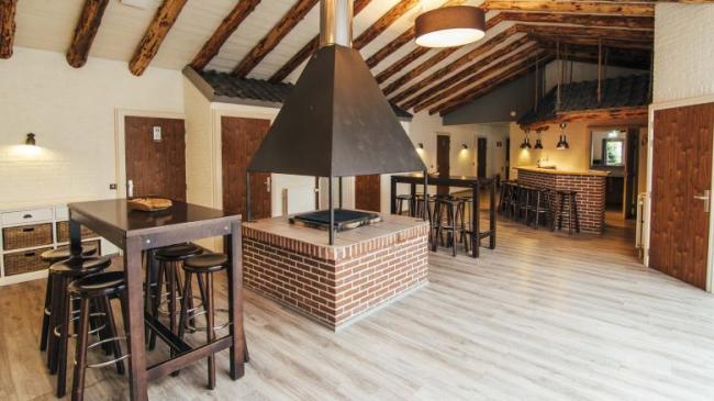 Entree met bar Schaapskooi Landgoed de Biestheuvel