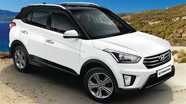 Je rijdt in een spiksplinternieuwe Hyundai Creta SUV (sept. 2018)